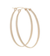 "Oval Gold 2"" Hoops"