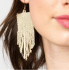 Seed Fringe Earrings