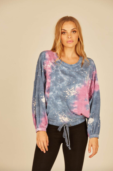 Galaxy Tie Dye Top