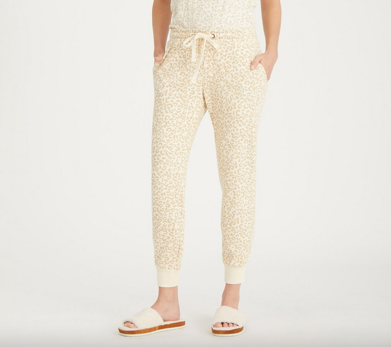 Barely Leopard Jogger