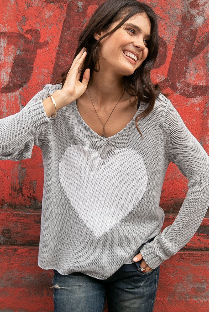 Juliet Heart Sweater