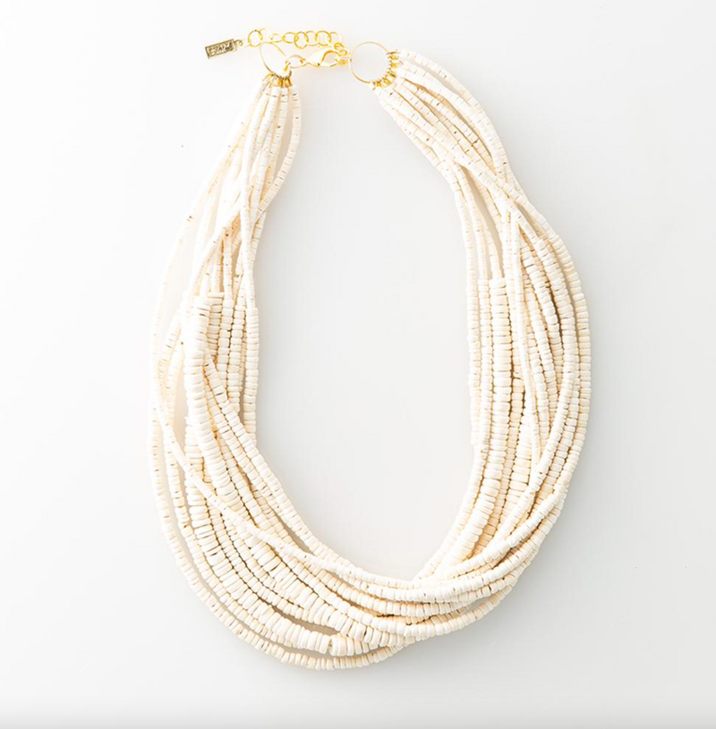 White Coconut Necklace