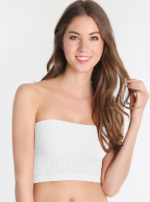 Shirred Bandeau