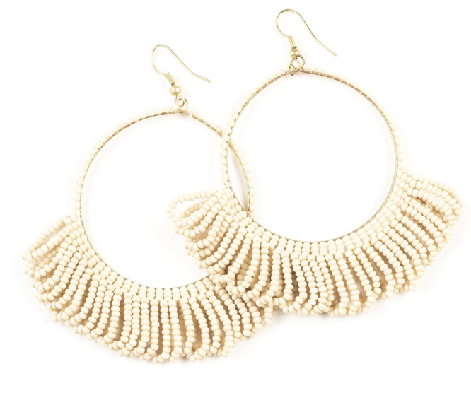 Ivory Seed Earrings