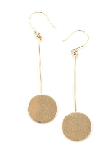 Stick Circle Earrings