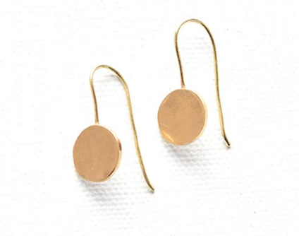 Dot Hook Earrings
