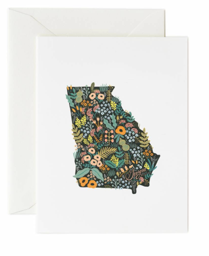 Georgia Wildflowers Card