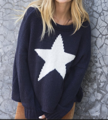 Star Chunky Sweater