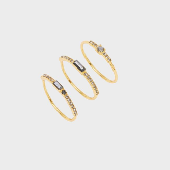 Desi Ring Set (Set of 3)