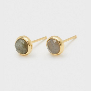 Power Gemstone Studs for Balance