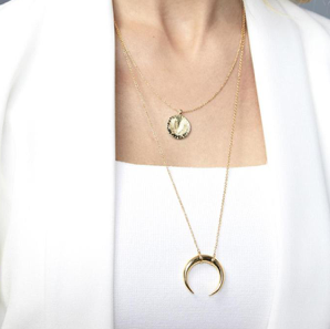 Cayne Crescent Necklace