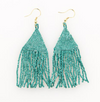 Petite Luxe Fringe Earrings