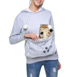 Cat Carrier Hoodie - Meou & Moi