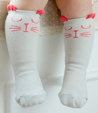 Kitten Ears Socks