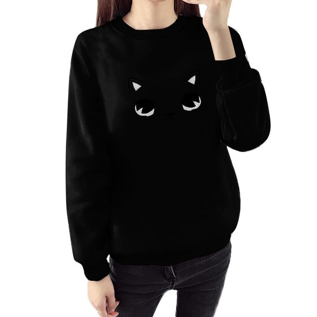 Cat Face Pullover - Meou & Moi