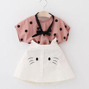 Kitten Ears Skirt Set