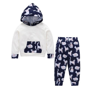 Sweater Kitten Jogger Set