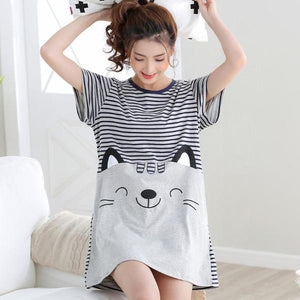 Happy Cat Nightgown