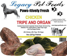 Load image into Gallery viewer, Chicken Tripe & Organ 5 Lbs Bags