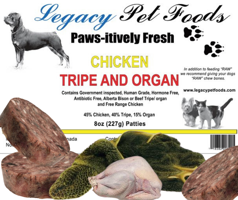 Chicken Tripe & Organ 5 Lbs Bags
