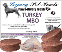 Load image into Gallery viewer, BULK TURKEY MBO 25 lbs