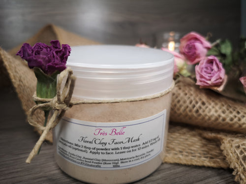 Floral Clay Mask