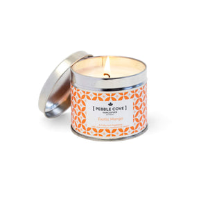 Exotic Mango - Large Tin Candle