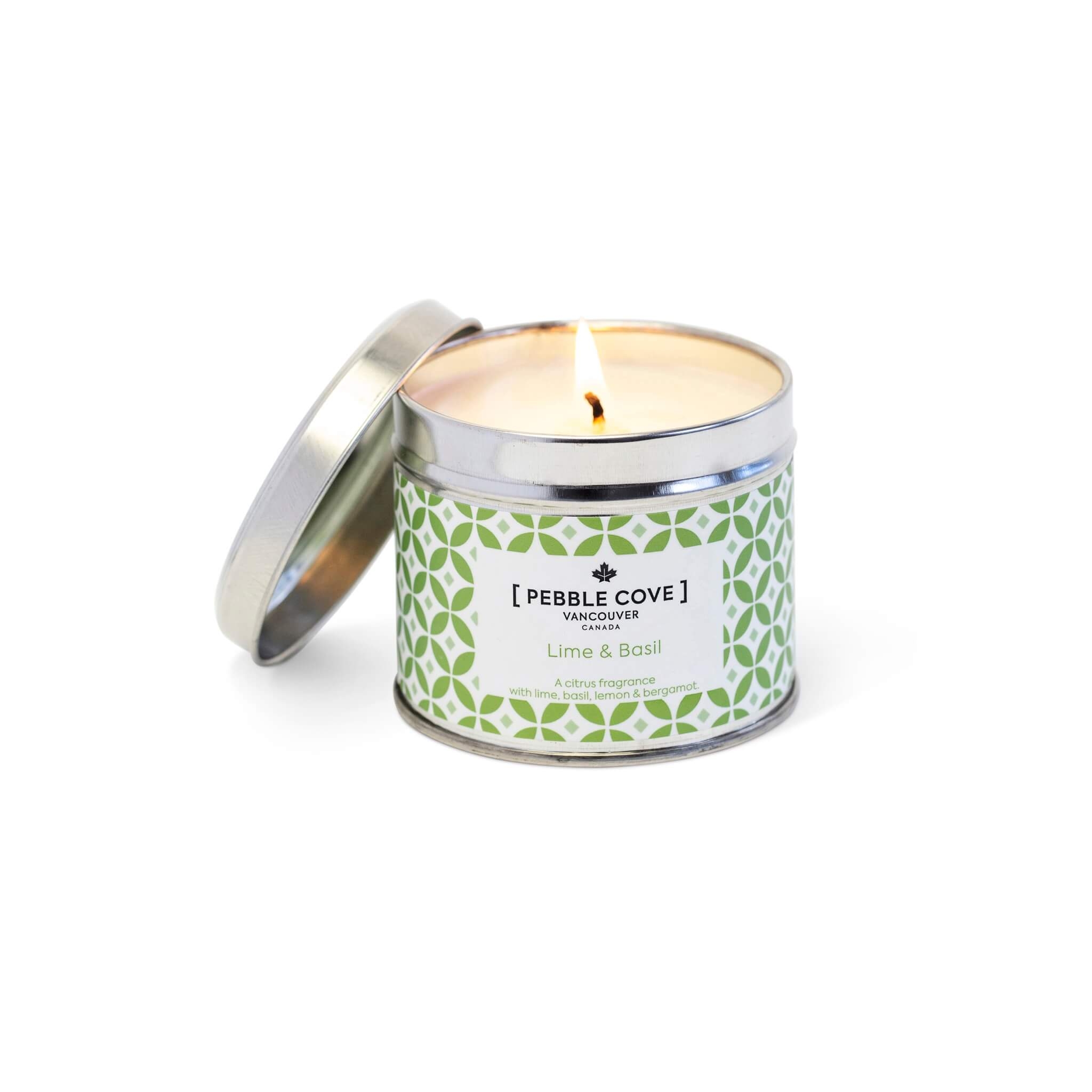 Lime & Basil - Large Tin Candle