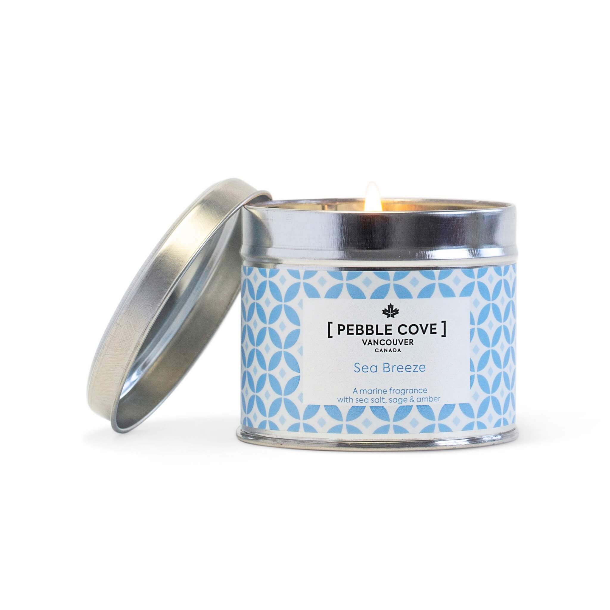 Sea Breeze - Large Tin Candle