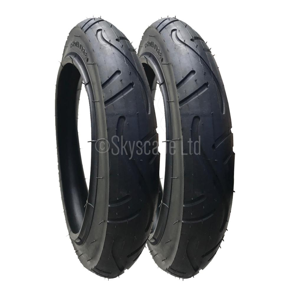 QUINNY SPEEDI 280 X 65-203  PUSHCHAIR TYRE AND TUBE FREE 1ST CLASS POST