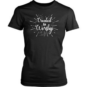 Created to Worship T-shirt