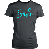Ladies smile t-shirt