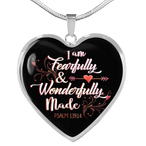 Uniquely Me Heart Necklace