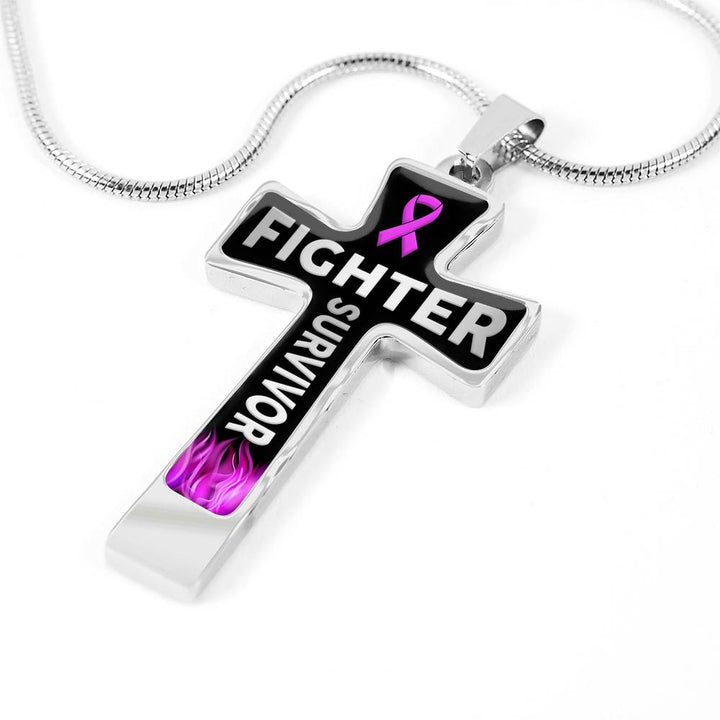 Survivor Cross Necklace