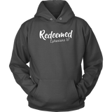 Charcoal Gray Redeemed Unisex Hoodie