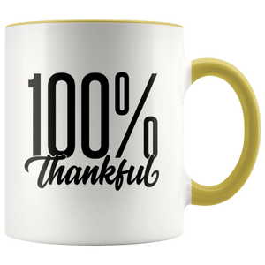 Thankful Accent Mug