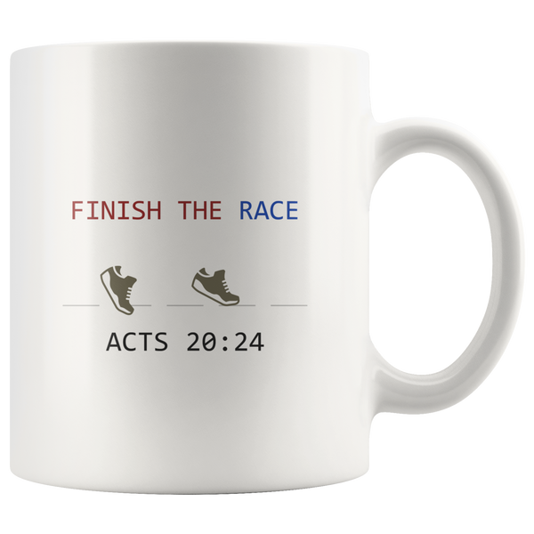 Finish The Race Mug