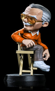 Iron Studios Stan Lee (Orange Sweater) Minico PX Vinyl Statue