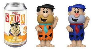 Funko Pop! Vinyl Soda: Flintstones - Fred Flintstone Common & Chase LE: 7500 PCS