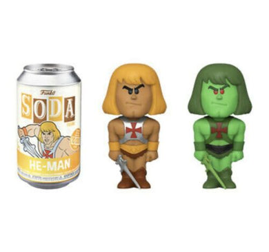 Funko Pop! Vinyl Soda: Masters of the Universe - He-Man Common & Chase LE: 10000 PCS