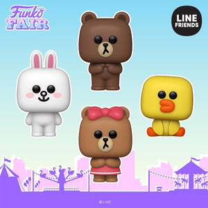 [PRE-ORDER] Funko Pop! Animation: Line Friends
