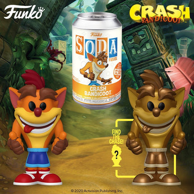 [PRE-ORDER] Funko Pop! Vinyl Soda: Crash Bandicoot w/ chance of Chase