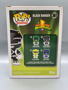 Autographed Black Power Ranger Pop with CoA