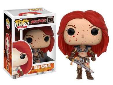 Funko Pop! Heroes: Red Sonja (Bloody) Px Exclusives
