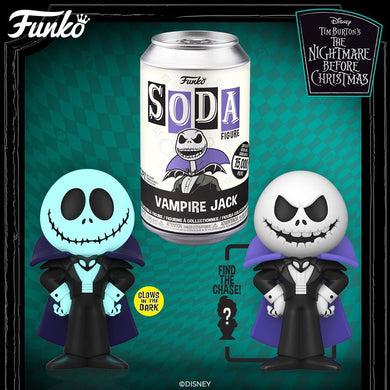 [PRE-ORDERS] Funko Pop! Vinyl Soda: NBC  Vampire Jack w/ chance of Chase