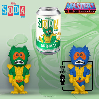 [PRE-ORDER] Funko Pop! Vinyl Soda: Masters of the Universe - Mer-man w/ chance of Chase