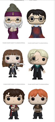 Funko Pop! Movies: Harry Potter - Set of 6