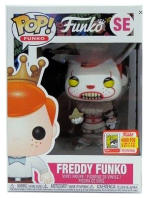 Funko Pop! Funko: Freddy as Pennywise (Hard Stack Included)