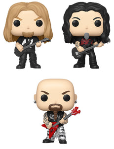 [PRE-ORDER] Funko Pop! Rocks: Slayer (Set of 3)