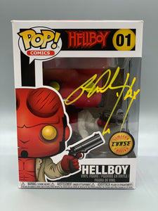 Autographed Hellboy Chase Pop with CoA